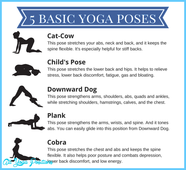 Printable Yoga Poses For Beginners - AllYogaPositions.com