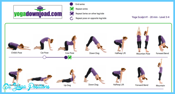 Printable Yoga Poses For Beginners Allyogapositions Com