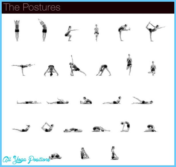 yoga positions chart