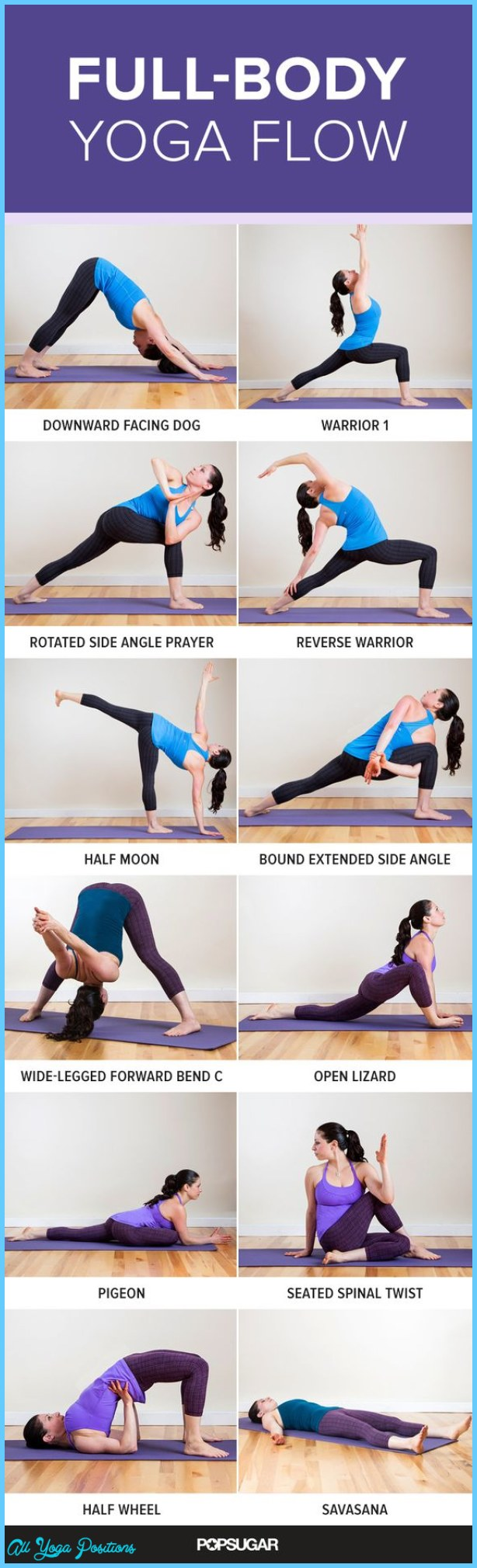 Cool Down Yoga Poses - AllYogaPositions.com ®