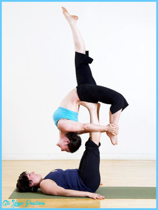 Hard Yoga Poses For Two - AllYogaPositions.com