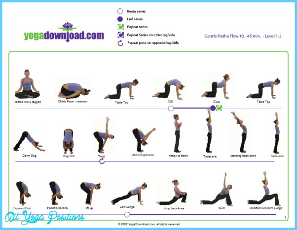 Hatha Yoga Poses Chart Allyogapositions Com