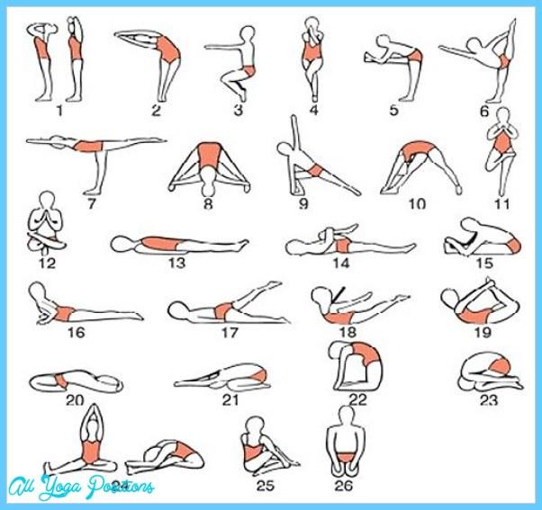 List Yoga Poses Allyogapositions Com