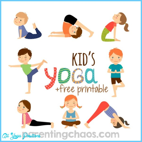 image regarding Yoga Cards Printable identify Printable Yoga Poses For Small children - ®