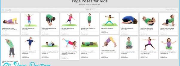 Printable Yoga Poses For Kids