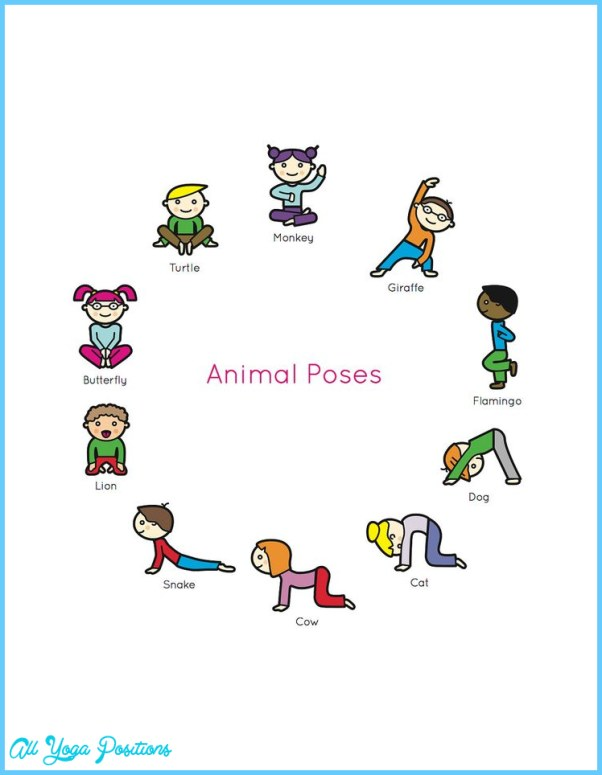 It's just a photo of Effortless Yoga Poses for Kids Printable