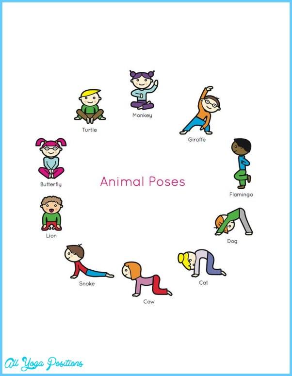Printable Yoga Poses For Kids Allyogapositions Com