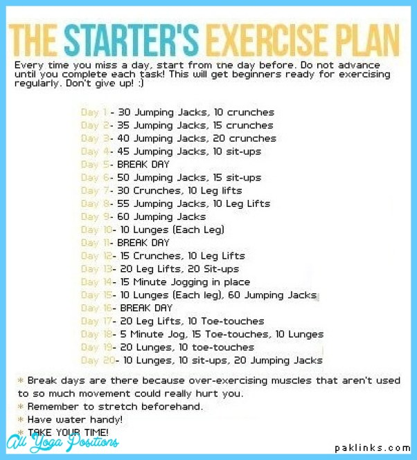 Daily Exercise Routine For Weight Loss 5