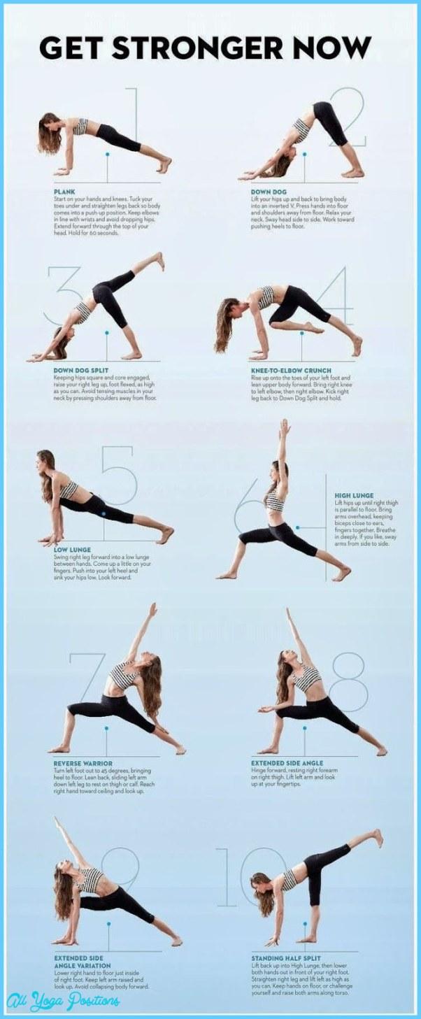 Yoga Exercises Evening