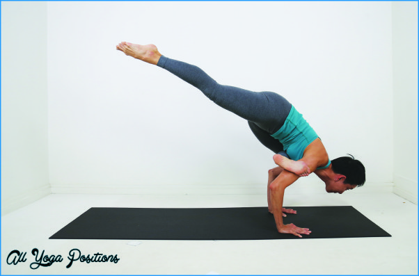 FLYING CROW POSE - All Yoga Positions - AllYogaPositions.com