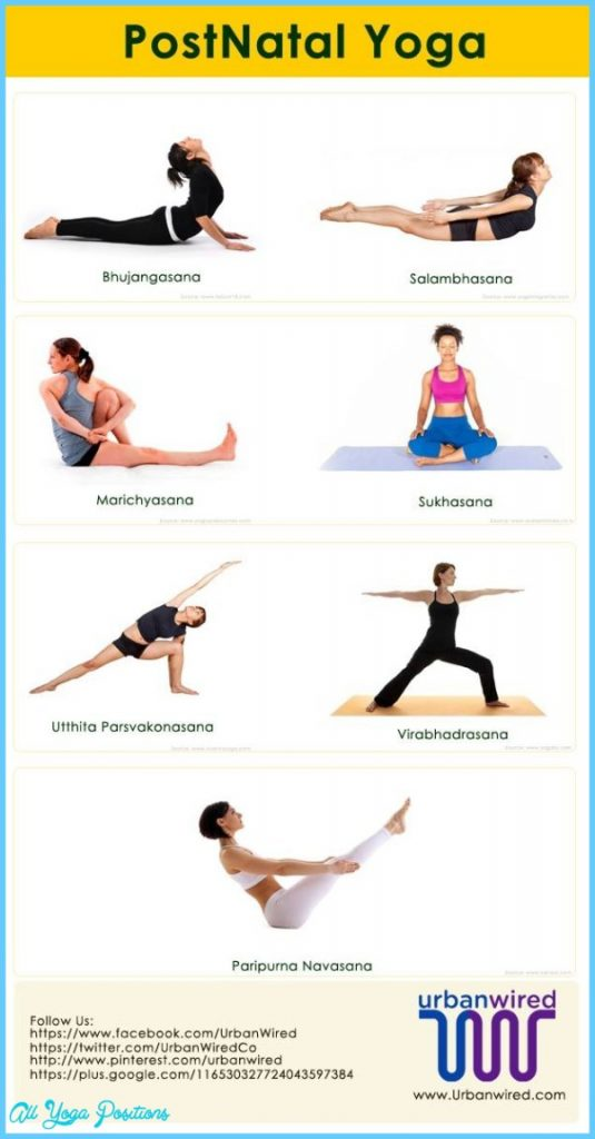 Postpartum Yoga Poses