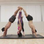 acro yoga handstand foot to foot pendulum 09