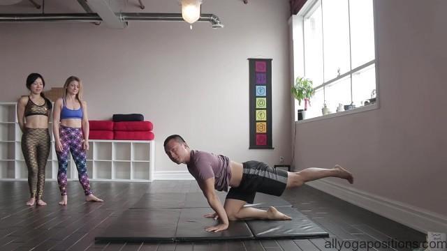 acro yoga washing machine four step tutorial 06
