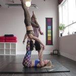 acro yoga washing machine four step tutorial 10