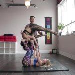 acro yoga washing machine four step tutorial 12