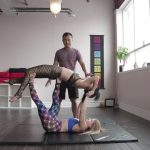 acro yoga washing machine four step tutorial 15