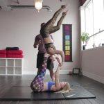 acro yoga washing machine four step tutorial 16