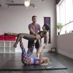 acro yoga washing machine four step tutorial 17