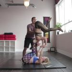 acro yoga washing machine four step tutorial 18