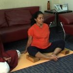 easy yoga for pregnant woman 12