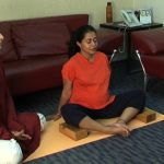 easy yoga for pregnant woman 14