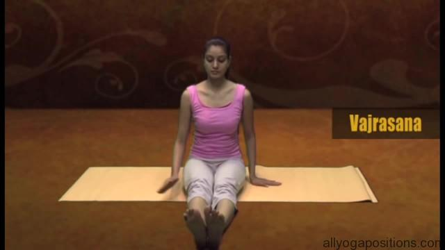 how to sit in vajrasan 11