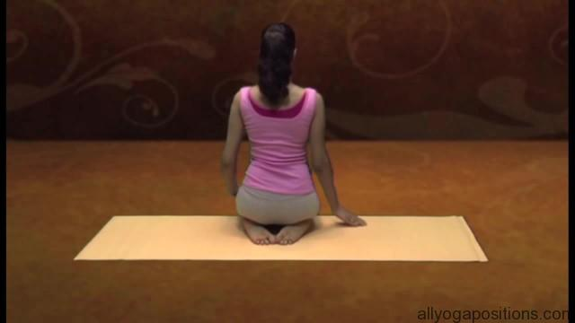 how to sit in vajrasan 6