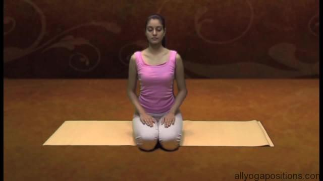 how to sit in vajrasan 8