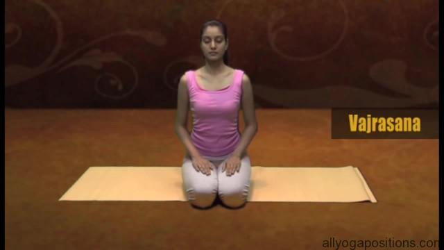 how to sit in vajrasan 9