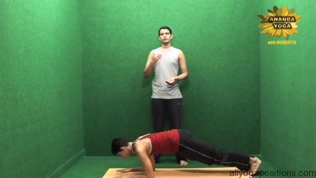 power yoga exercise to tone hands 13