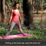 pulled hamstring treatment yoga tutorial video 5