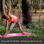 pulled hamstring treatment yoga tutorial video 6