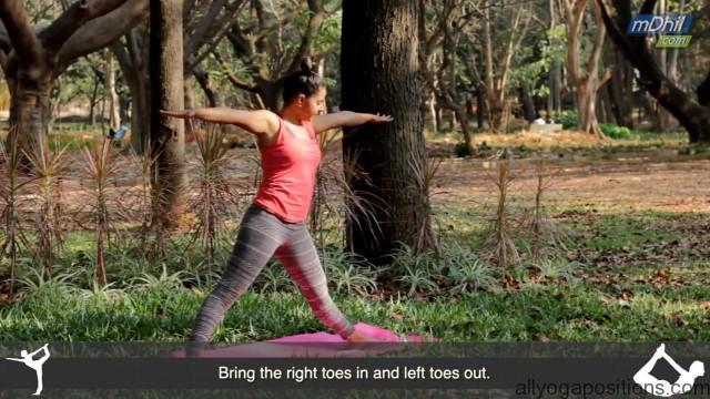 pulled hamstring treatment yoga tutorial video 8
