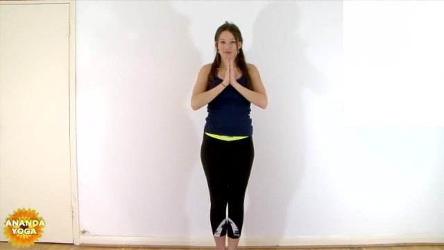 yoga for beginners basic balance tree pose 16