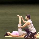 yoga for beginners couples yoga part 1 12