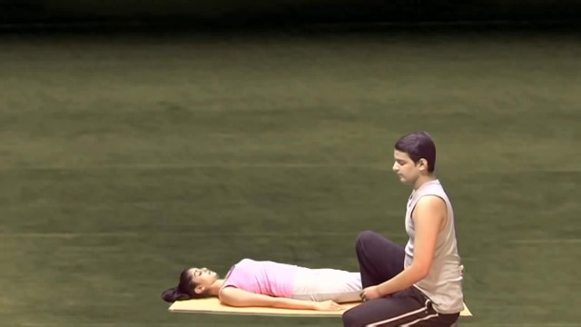 yoga for beginners couples yoga part 1 14