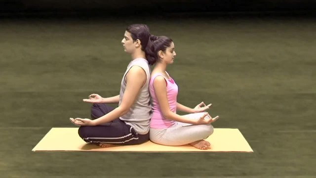 yoga for beginners couples yoga part 1 62