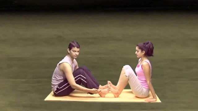 yoga for beginners couples yoga part 2 15