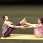 yoga for beginners couples yoga part 2 17