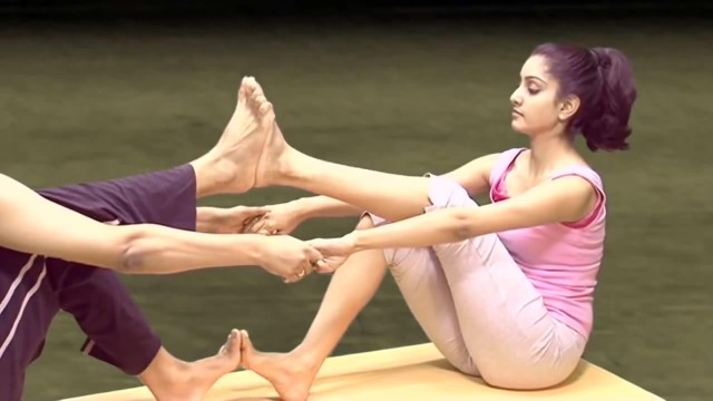 yoga for beginners couples yoga part 2 19