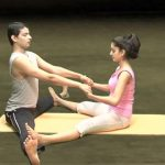 yoga for beginners couples yoga part 2 26