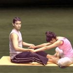 yoga for beginners couples yoga part 2 36
