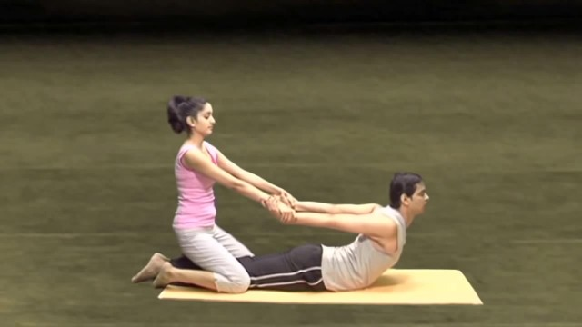 yoga for beginners couples yoga part 2 44