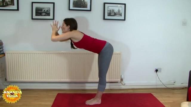 yoga for beginners forward fold pose 26