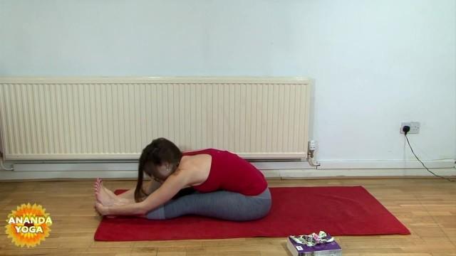 yoga for beginners forward fold pose 40