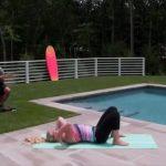 yoga for beginners how to do full wheel jenna raynell yoga 18
