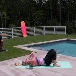 yoga for beginners how to do full wheel jenna raynell yoga 24