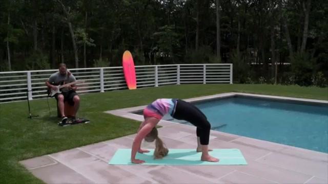 yoga for beginners how to do full wheel jenna raynell yoga 26