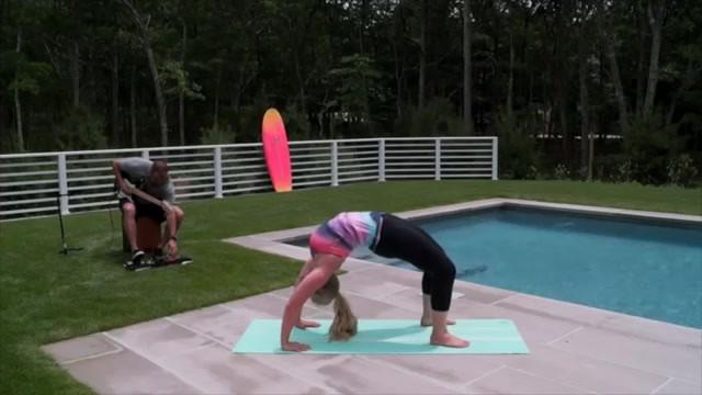 yoga for beginners how to do full wheel jenna raynell yoga 27