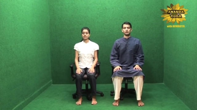 yoga for beginners simple breathing exercise 17